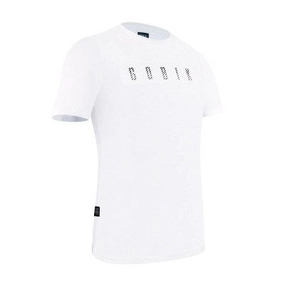 CAMISETA GOBIK M/CORTA HOMBRE AFTER RIDE OVERLINES WHITE