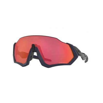 Gafas Oakley Flight Jacket Matte Navy con lentes Prizm Trail