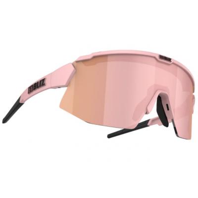 GAFAS BLIZ BREEZE Matt Pink FRAME|BROWN AND ROSE LENS