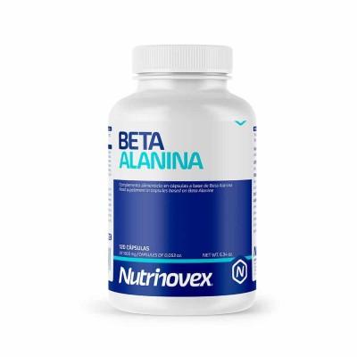 BETA ALANINA 120 CAPSULAS NUTRINOVEX