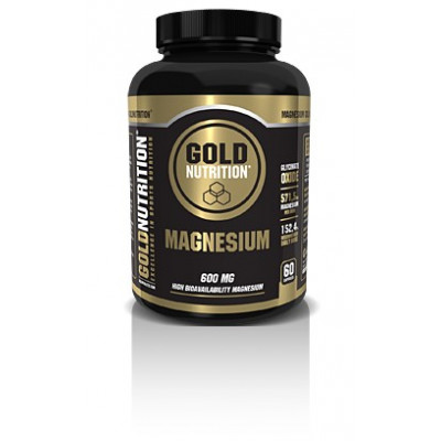 MAGNESIO 600 MG GOLD NUTRITION