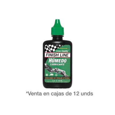 FINISH LINE LUBRICANTE CROSS COUNTRY BOTE 2 Oz.
