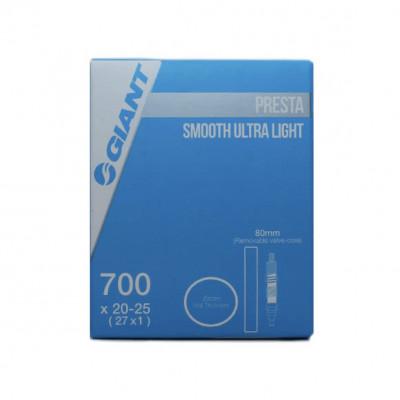 CAMARA GIANT 700X20-25 80MM SMOOTH ULTRA LIGHT