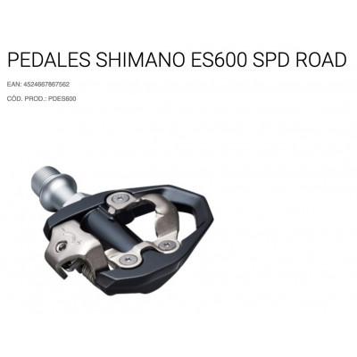PEDALES SHIMANO ES600 SPD ROAD