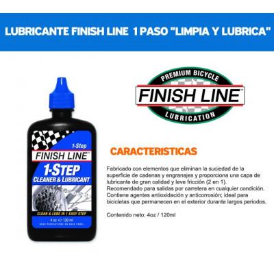 LUBRICANTE FINISH LINE 1 PASO 4OZ