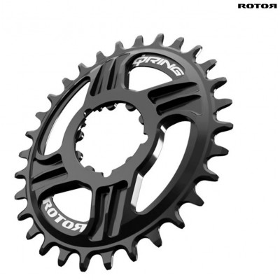 PLATO ROTOR MTB Q-RING QX1 DIRECT MOUNT SRAM GXP NEGRO