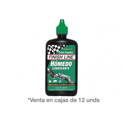 FINISH LINE LUBRICANTE CROSS COUNTRY BOTE 120ml