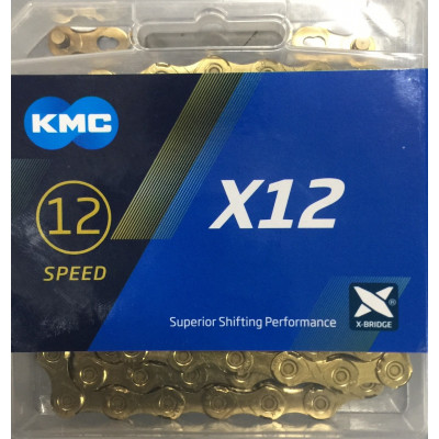 CADENA KMC X12 TI-N GOLD/ORO