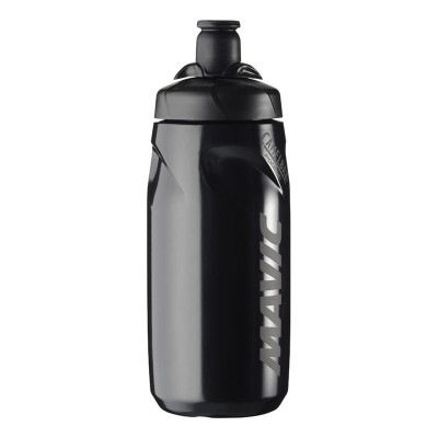 Bidón Mavic H2O 0.6L negro blanco