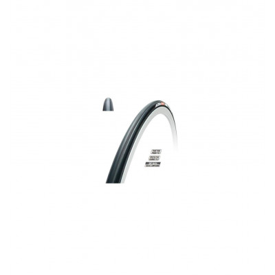 Tubular Tufo Elite Jet 700X20 Mm Negro 160 G