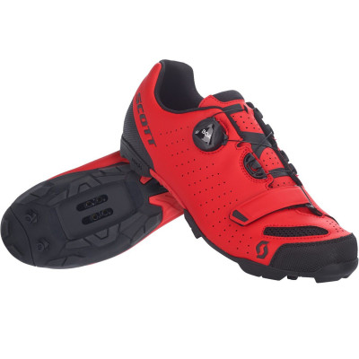 ZAPATILLA MTB COMP BOA Color Red/black