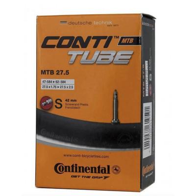 """Cámara Continental 27.5""""x1.75-2.40 Válvula Presta 42 mm"""